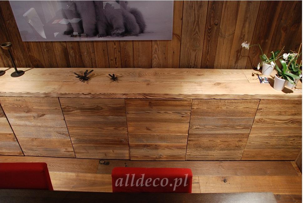 Najnowsze Meble ze starego drewna - Alldeco | Meble i produkty ze starego drewna ZI29